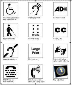 Quy chuẩn thiết kế công trình cho người khuyết tật tiếp cận sử dụng