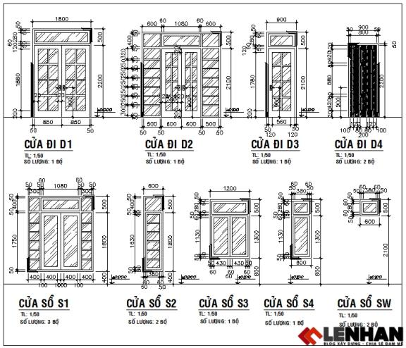 thiết kế nhà cấp 4 1 tầng hiện đại - h4
